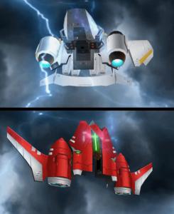 星天轟機オリガミオン変形